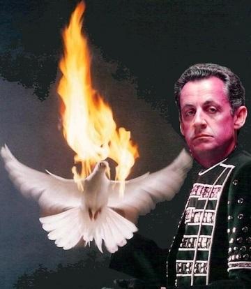 Colombe à la Sarkozy