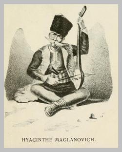 Hyacinthe Maglanovich, Barde Morlaque